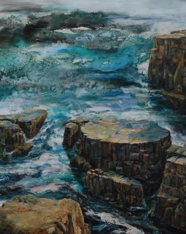 Tess Gartland-Jones,'To The Lighthouse, Newfoundland',Wychwood Art
