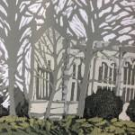 Stratford Reflections | Alexandra Buckle | Limited Edition Lino Print | Original Contemporary Art | Gift Art