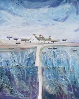 Anya Simmons-IntoTh Blue-Wychwood Art