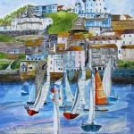 Anya Simmons-Salcombe Regatta-Wychwood Art