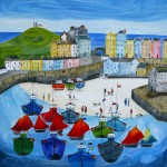 Anya Simmons-The Tenby Experience 4-Wychwood Art