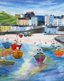 Anya Simmons-The Tenby Experience 6-Wychwood Art