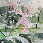 Elaine Kazimierczuk Apple Blossom at Botley Lane  Allotments, Oxford 2-r
