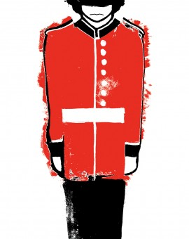 Gavin Dobson | Queen's Guard | Wychwood Art