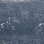 The Morning Parade Oil on Canvas – Size 95 x 35 cm Low Res