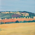 Eleanor Woolley | A view from Rollright | Landscape | Impressionistic