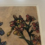 Limited Edition Vicky Oldfield Collagraph Print, Summer Selection, Hand Finished Print, Contemporary Flower Art 5