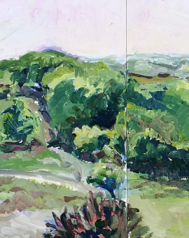Lisa Takahashi The Quantocks Seen From Crowcombe Wychwood Art