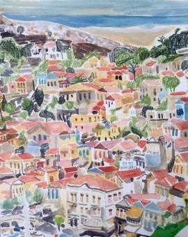 Lisa Takahashi symi houses Wychwood art