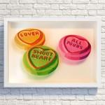 Simon-Dry-Sweet-Love-Quality-Street-wrapper-collage-Wychwood-art