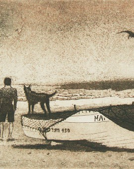 Tim Southall, Man & Dog, Wychwood Art