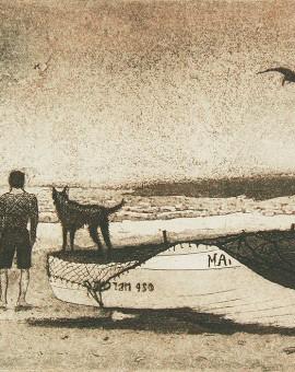 Tim Southall, Man & Dog, Wychwood Art