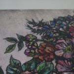 Vicky Oldfield, Everyday Magic, Limited Edition Collograph Print, Floral Art 3