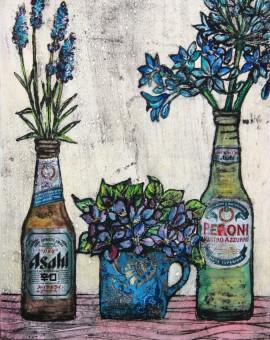 Violets are blue 2, Wychwood art