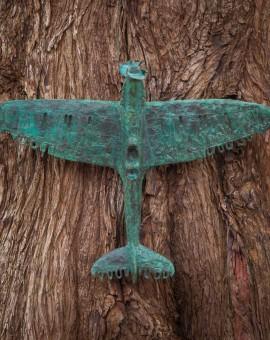 Adam Warwick Hall- CRUCIFIER -Bronze resin- 1 of 12 -Wychwood art-view c