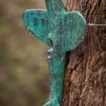 Adam Warwick Hall- CRUCIFIER -Bronze resin- 1 of 12 -Wychwood art-view i