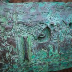 Adam Warwick Hall- CRUCIFIER -Bronze resin- 1 of 12 -Wychwood art-view l
