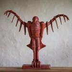 Adam Warwick Hall -GROUND EFFECT – Bronze- 2 of 12 -Wychwood Art- View b