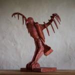 Adam Warwick Hall -GROUND EFFECT – Bronze- 2 of 12 -Wychwood Art- View c