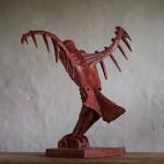 Adam Warwick Hall -GROUND EFFECT – Bronze- 2 of 12 -Wychwood Art- View e