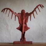 Adam Warwick Hall -GROUND EFFECT – Bronze- 2 of 12 -Wychwood Art- View f