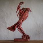 Adam Warwick Hall -GROUND EFFECT – Bronze- 2 of 12 -Wychwood Art- View h