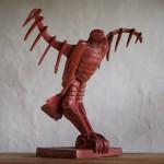 Adam Warwick Hall -GROUND EFFECT – Bronze- 2 of 12 -Wychwood Art- View j