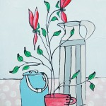 Dinky Milk Urn by Jacky Hawthorne- Wychwood Art