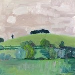 Eleanor Woolley  | The Copse | Landscape |  Impressionistic