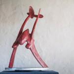 Fork Tailed Devil-Adam Warwick Hall- Bronze-View d