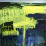 Gina Parr - Ebb and flow - Wychwood Art - Contemporary Abstract Landscape