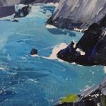 Sian Mcgill, Original Landscape Painting, Contemporary Abstract Art 4