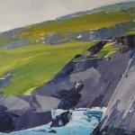 Sian Mcgill, Original Landscape Painting, Contemporary Abstract Art 5