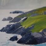 Sian Mcgill, Original Landscape Painting, Contemporary Abstract Art 6