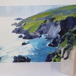 Sian Mcgill, Original Landscape Painting, Contemporary Abstract Art 9