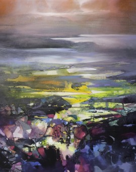 100 x 100cm Clearing Mist - Scott Naismith - Wychwood Art