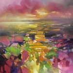 100 x 100cm Fragments from Above - Scott Naismith - Wychwood Art