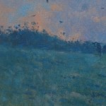 Allbrook-Cattle-and-Evening-sky.-Cattle-on-the-skyline-against-orange-sky copy