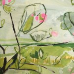 Elaine Kazimierczuk Apple Blossom at Botley Lane Allotments I, Oxford close-up 2 Wychwood Art