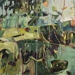 Elaine Kazimierczuk Autumn Diptych, Bramble and Elderberry Wychwood Art