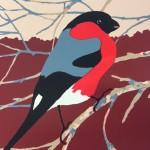 Eliza-Southwood-Bullfinch-Silkscreen-Print-Wychwood-Art