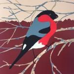 Eliza-Southwood-Bullfinch-Silkscreen-Print-Wychwood-Art-Gallery
