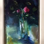 Framed-Jemma-Powell-Pink-red-rose-Wychwood-Art