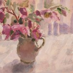 Hellebores Flower Painting Lynne Cartlidge Wychwood Art