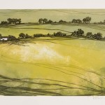 Laura Boswell-Croft and three fields-Wychwood Art