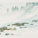 Laura Boswell-Dry stone wall-Wychwood Art