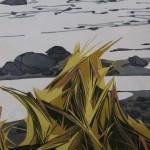 Laura Boswell, Limited Edition Linocut Print, Landscape Art