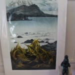 Laura Boswell, Limited Edition Linocut Print, Landscape Art 7
