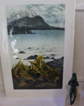 Laura Boswell, Limited Edition Linocut Print, Landscape Art 7