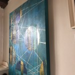 Lorraine Thorne, Beneath the Surface, Original Abstract Painting 11